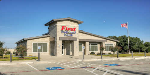 Front view of Weatherford Santa Fe Location
