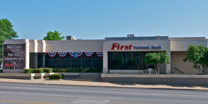 Front view of Weatherford Palo Pinto Location